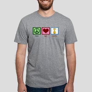 Peace Love Giraffes T-Shirt