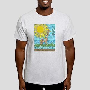 African Rainbow White T-Shirt