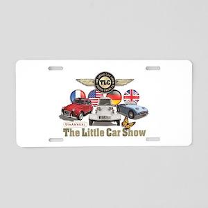 Little Car Show 2018 Aluminum License Plate
