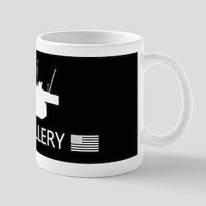 U.S. Military: U.S. Artillery 11 oz Ceramic Mug