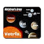Metatron's Army Mousepad