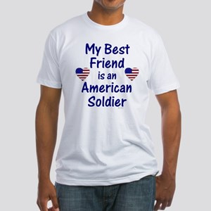 Best Friend/Soldier Fitted T-Shirt