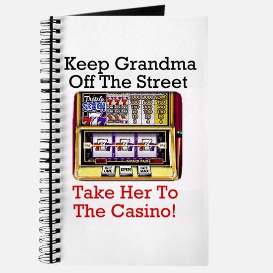 Grandma's Gambling Journal Diary Recipe Notebook