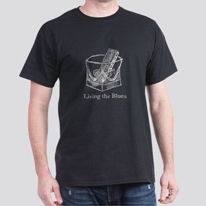 living the blues Dark T-Shirt