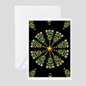 xmas card4 Greeting Cards