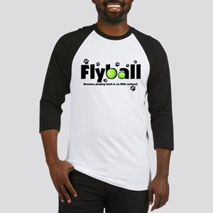 Not Fetch Flyball Baseball Jersey