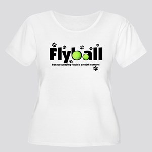 Not Fetch Flyball Women's Plus Size Scoop Neck T-S