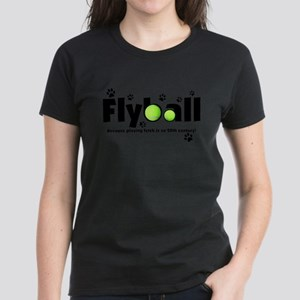 Not Fetch Flyball Women's Dark T-Shirt