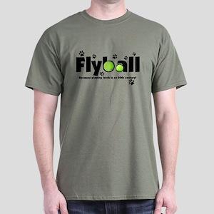 Not Fetch Flyball Dark T-Shirt