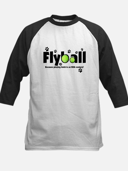 Not Fetch Flyball Kids Baseball Jersey