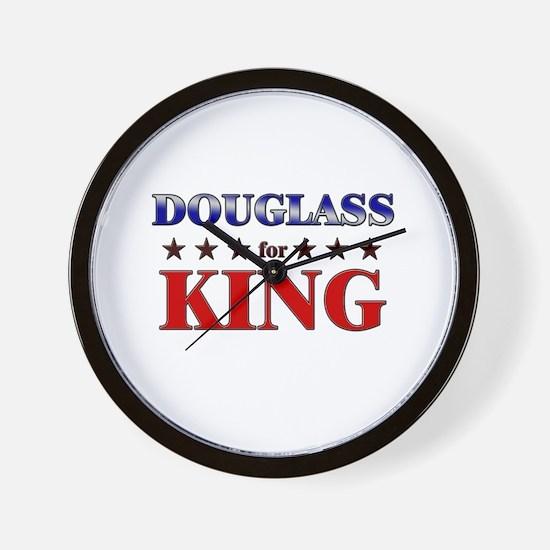DOUGLASS for king Wall Clock
