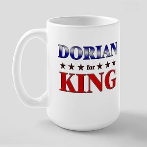 DORIAN for king Large Mug