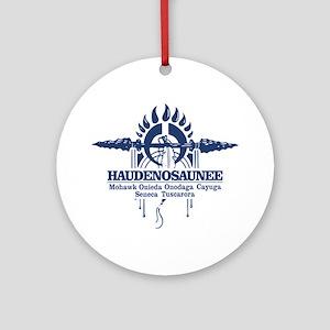 Haudenosaunee Round Ornament