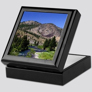 Truckee River Keepsake Box
