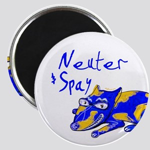 Spay & Neuter (Blue Dog) Magnet