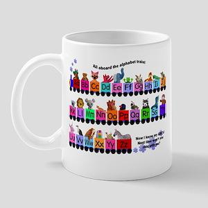 Alphabet Train Mug