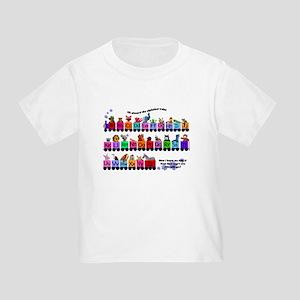 Alphabet Train Toddler T-Shirt