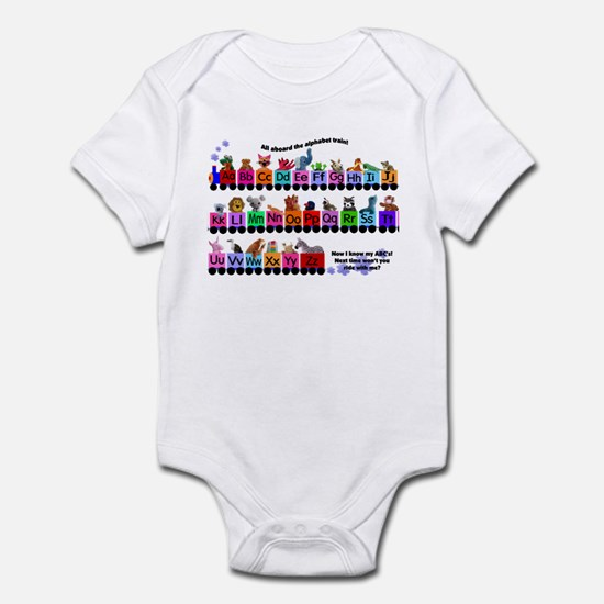 Alphabet Train Infant Bodysuit