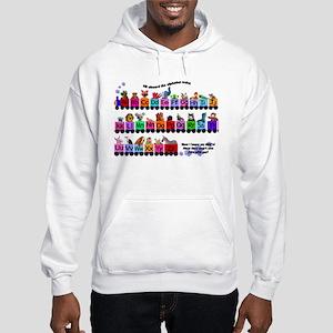 Alphabet Train Hooded Sweatshirt