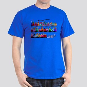 Alphabet Train Dark T-Shirt