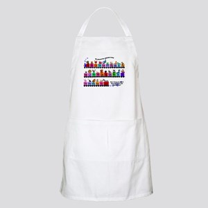 Alphabet Train BBQ Apron