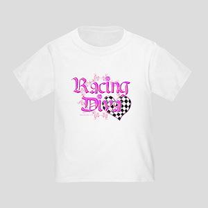 Racing Diva Pink Toddler T-Shirt