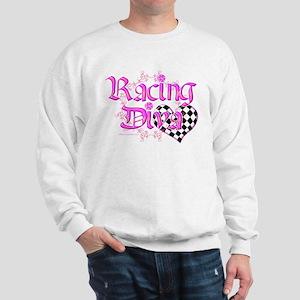 Racing Diva Pink Sweatshirt
