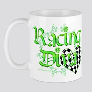 Racing Diva Pink Mug