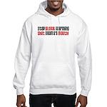 Shutt Obama's Mouth Hooded Sweatshirt