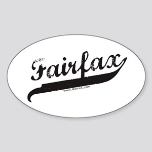 Fairfax Oval Sticker