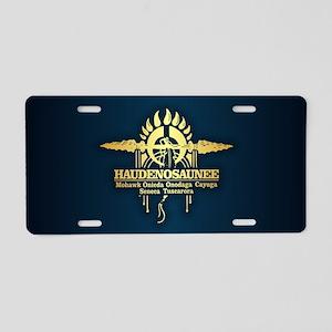 Haudenosaunee Aluminum License Plate