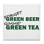 GREEN TEA Tile Coaster