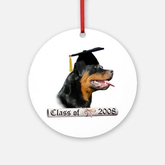 Rottweiler Grad 08 Ornament (Round)