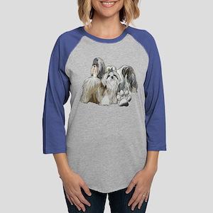 two shih tzus Long Sleeve T-Shirt
