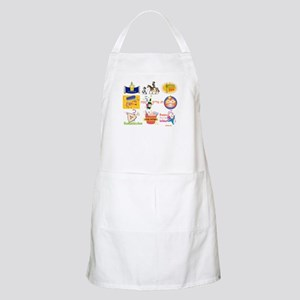 Happy Purim Collage BBQ Apron