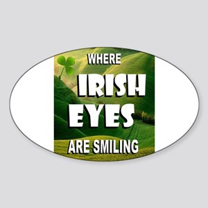 IRISH EYES Sticker