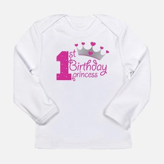 1st Birthday Princess Long Sleeve T-Shirt