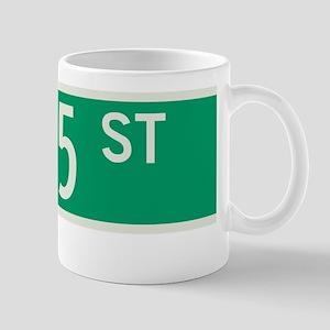 135th Street in NY Mug