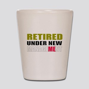 retirement Shot Glass