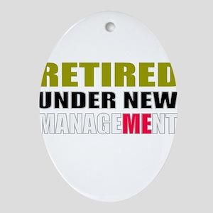 retirement Oval Ornament