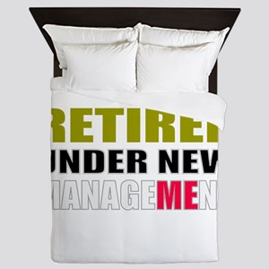 retirement Queen Duvet