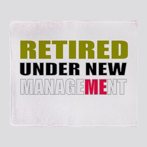 retirement Throw Blanket