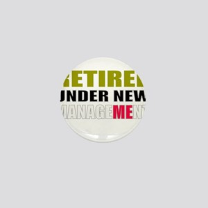 retirement Mini Button