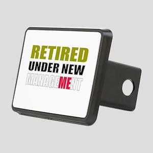 retirement Rectangular Hitch Cover