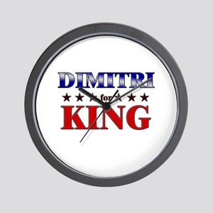 DIMITRI for king Wall Clock