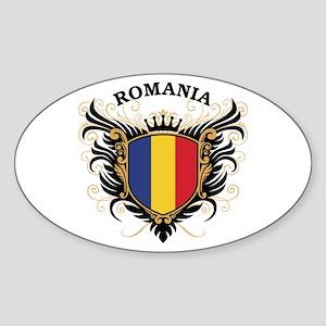 Romania Sticker (Oval)