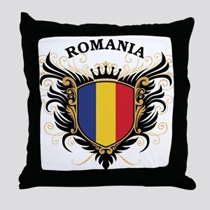 Romania Throw Pillow