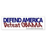 Defeat Obama Bumper Sticker