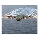 C-130 Hercules Small Poster