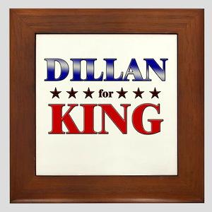 DILLAN for king Framed Tile